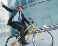 Велосипед тоже транспорт